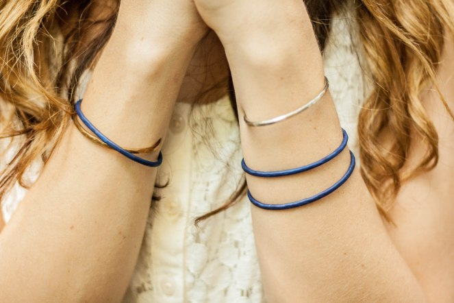 Starry Night Skinny Stacked Cuffs